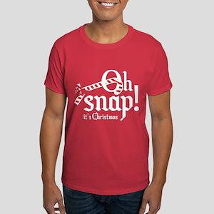 Oh Snap! It's Christmas. Dark T-Shirt