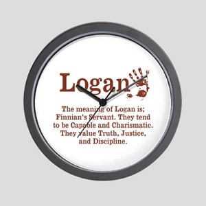 The Meaning of Logan Wall Clock