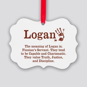 The Meaning of Logan Ornament