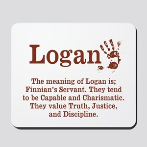 The Meaning of Logan Mousepad