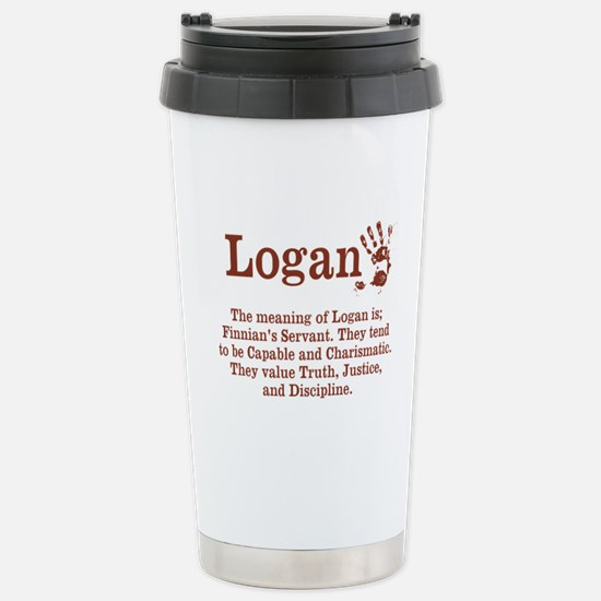 The Meaning of Logan Travel Mug