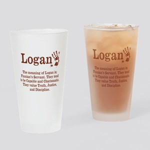 The Meaning of Logan Drinking Glass