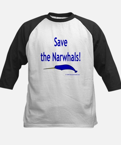 Save the Narwhals Baseball Jersey