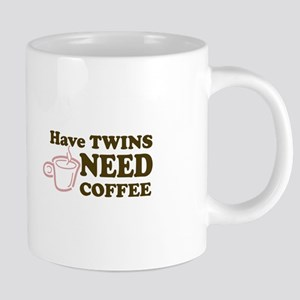 Have Twins-Need Coffee (Pink) - Mugs