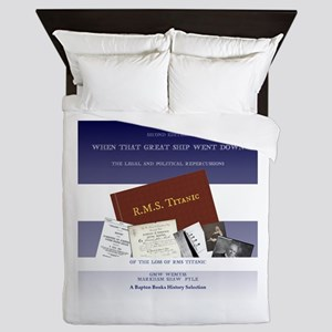 The Great Ship Titanic Queen Duvet