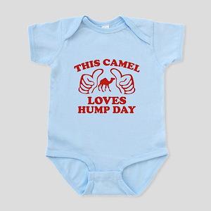 This Camel Loves Hump Day Infant Bodysuit