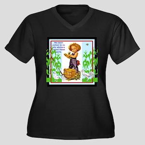 Little Husker Plus Size T-Shirt