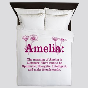 The Meaning Of Amelia Queen Duvet