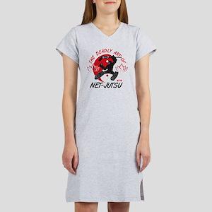 Net-Jutsu Women's Nightshirt