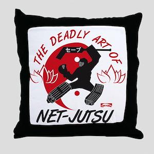Net-Jutsu Throw Pillow