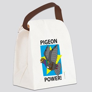 PIGEON POWER! Canvas Lunch Bag