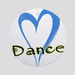 Dance Heart Ornament (Round)