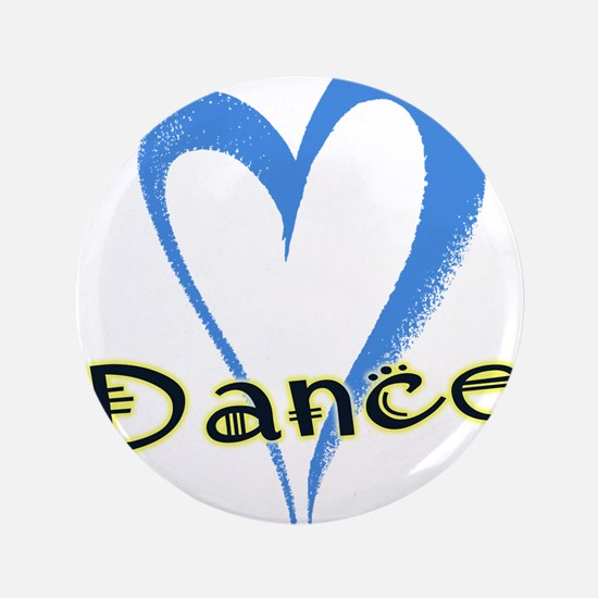 "Dance Heart 3.5"" Button"