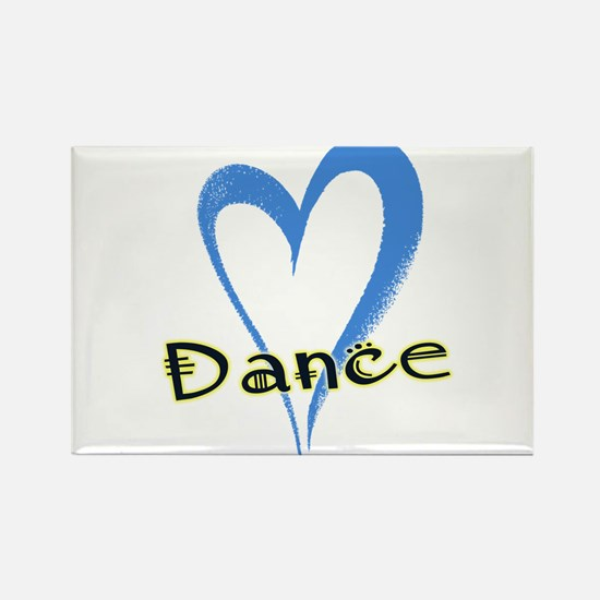 Dance Heart Magnets