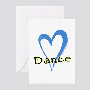 Dance Heart Greeting Cards