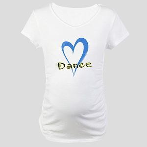 Dance Heart Maternity T-Shirt