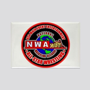NWA ASW RECTANGLE MAGNET