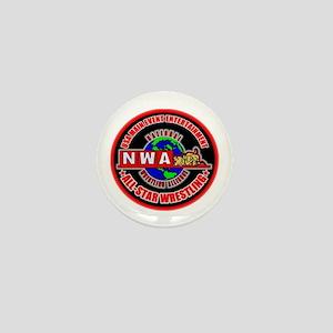 NWA ASW MINI BUTTON