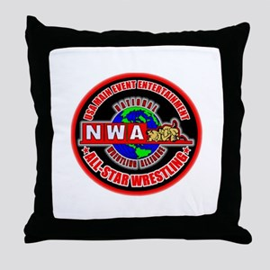 NWA ASW THROW PILLOW