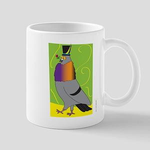 MALE PIGEON STRUTTING (Boxy) Mug