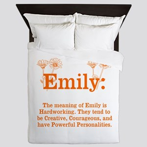 The Meaning Of Emily Queen Duvet