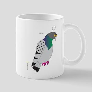 CHECKERED PIGEON Mugs