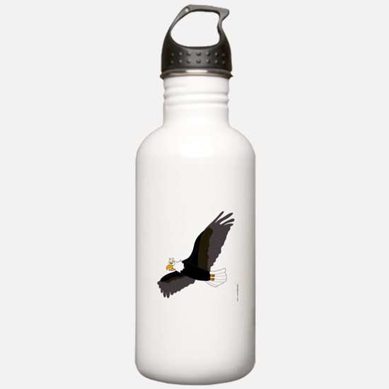 AMERICAN BALD EAGLE Water Bottle