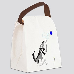 ZIGGY the WOLF Canvas Lunch Bag