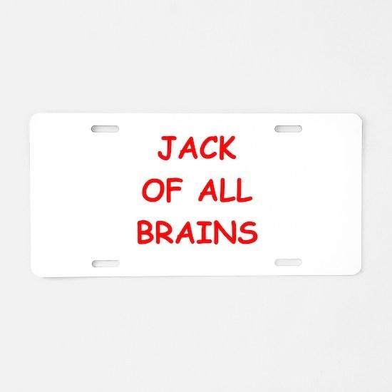smart Aluminum License Plate