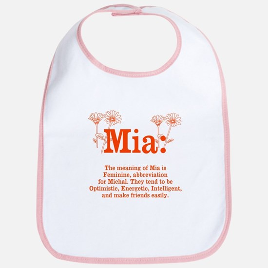 The Meaning of Mia Bib