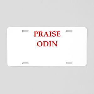 odin Aluminum License Plate