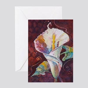 Summer Calla Greeting Card