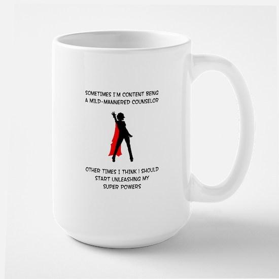 Counseling Superheroine Mugs