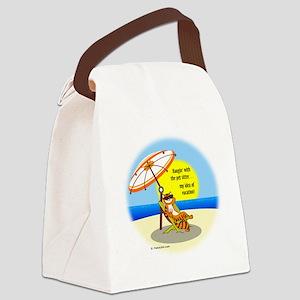 hangWsitter10x9 Canvas Lunch Bag