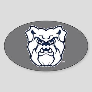 Butler Bulldog Sticker (Oval)