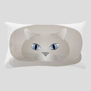 Chat Gris Pillow Case