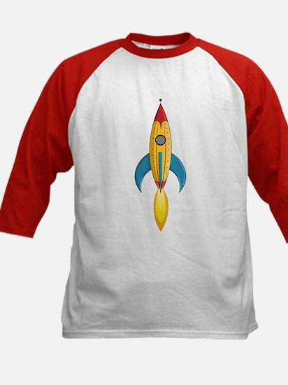 Rocket Ship Kids Baseball Jersey
