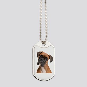 The Boxer Dog Tags