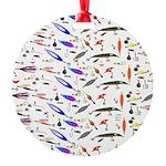Tackle Box Pattern 1 Ornament