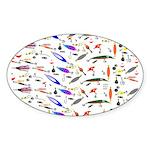 Tackle Box Pattern 1 Sticker