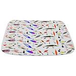 Tackle Box Pattern 1 Bathmat