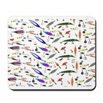 Tackle Box Pattern 1 Mousepad