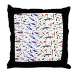 Tackle Box Pattern 1 Throw Pillow