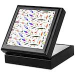 Tackle Box Pattern 1 Keepsake Box
