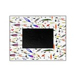 Tackle Box Pattern 1 Picture Frame