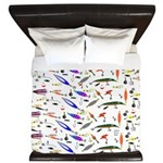 Tackle Box Pattern 1 King Duvet