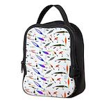 Tackle Box Pattern 1 Neoprene Lunch Bag