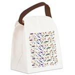 Tackle Box Pattern 1 Canvas Lunch Bag