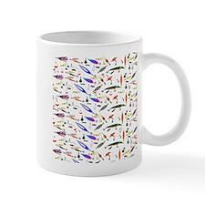 Tackle Box Pattern 1 Mugs