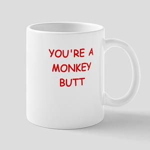 monkey butt Mugs